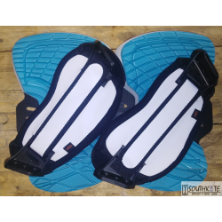 Set Pad & strap Fluid Azul