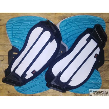 Set Pad & strap Fluid Azul