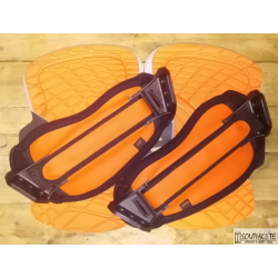 Set Pad & strap Fluid Naranja