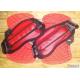 Set Pad & strap Fluid Rojo