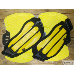 Set Pad & strap Fluid Amarillo