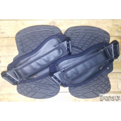 Set Pad & strap Fluid Negro