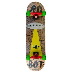 Skateboard Completo Robot Space War