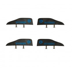 Set 4 Quillas Crazyfly 3cm