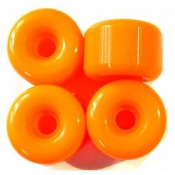 Ruedas Naranjas 60 x 40mm 100A