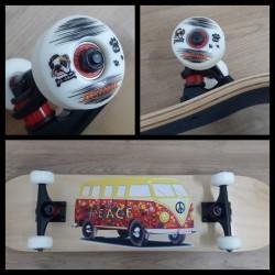 Skateboard Completo Robot Super Heros