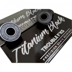 Rodamientos Trouble Titanium Black
