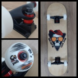 Skateboard Completo Inicio Sk8 or Die