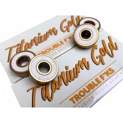 Rodamientos Trouble Titanium Gold