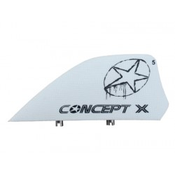 Quillas kiteaboards Comcept X Blanca