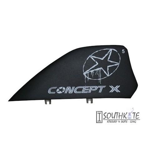 Quillas kiteaboards Comcept X Negra