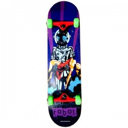 Skateboard Completo Robot Salvation