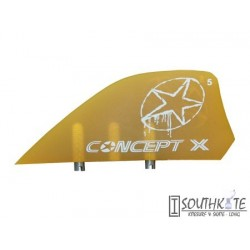 Set 4 Quillas kiteaboards Comcept X Roja